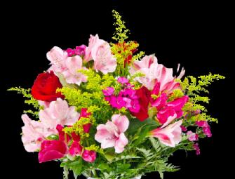 serbest buket çiçeği