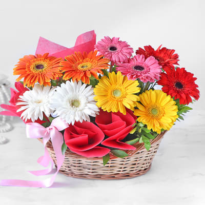 barışmak için çiçek