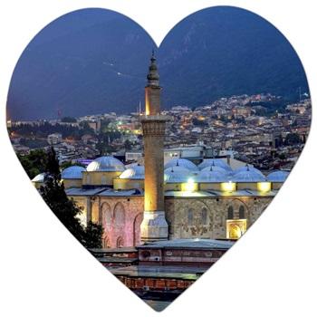 Bursa'da bulunan tarihi camilerin isimleri