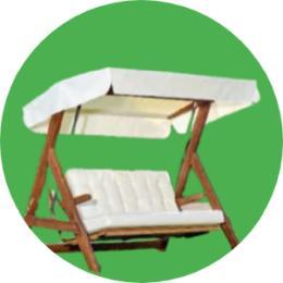 bahçeye sallanan sandalye