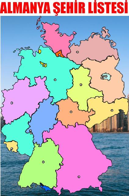 Almanya şehir isimleri